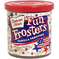 Duncan Hines Premium Frosting Vanilla Frosting Food Product Image