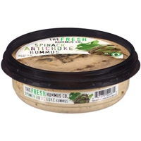 The Fresh Hummus Co. Spinach Artichoke Hummus, 12 oz Food Product Image