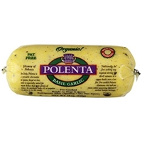 Ancient Harvest Polenta Gluten-Free Basil Garlic Food Product Image