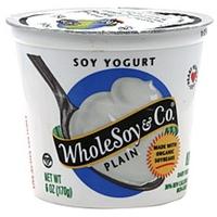 Wholesoy & Co. Soy Yogurt Plain Food Product Image