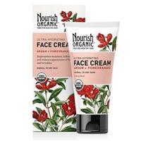 Nourish Organic Ultra-Hydrating Argan and Pomegranate Face Cream Food Product Image