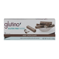 Glutino Gluten Free Wafers Milk Chocolate Food Product Image