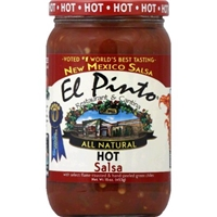 El Pinto Hot Salsa Food Product Image