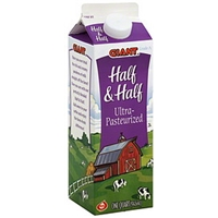 Ahold Ultra-Pasteurized Half & Half Food Product Image