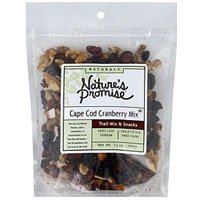 Nature's Promise Naturals Cape Cod Cranberry Trail Mix Snack Food Product Image