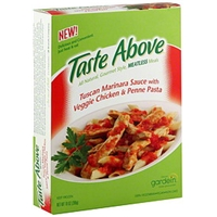 Taste Above Tuscan Marinara Sauce With Veggie Chicken & Penne Pasta Food Product Image
