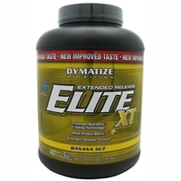 Dymatize Nutrition Elite Xt Extended Release Protein Powder - Fudge Brownie 4 lbs Pwdr Food Product Image