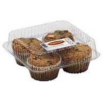 Gluten Free Nation Muffins Gluten Free Blueberry Food Product Image