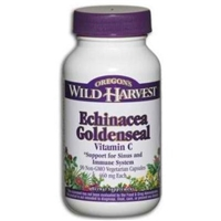 Oregon's Wild Harvest Echinacea Goldenseal Vitamin C Food Product Image