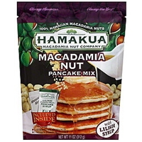 Hamakua Macadamia Nut Pancake Mix Macadamia Nuts Food Product Image