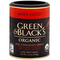 Green & Black's Hot Chocolate Drink Maya Gold Food Product Image