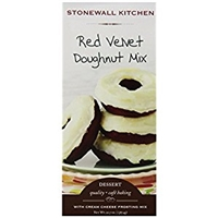 Stonewall Kitchen Red Velvet Doughnut With Cream Cheese Frosting Mix 20 7 Ounce Allergy And Ingredient Information