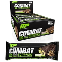 Muscle Pharm Combat Crunch Chocolate Chip Protein Bar - 12 Count Food Product Image