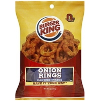 Burger King Snacks Onion Rings Flavored Food Product Image