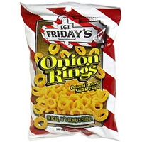 T.G.I. Friday's Onion Rings Snack Chips Food Product Image