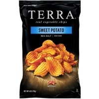 Terra Sweet Potato Krinkle Cut Chips Food Product Image