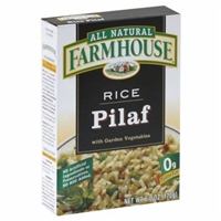 Farmhouse Rice Pilaf With Garden Vegetables Food Product Image