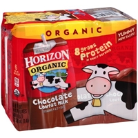 Horizon Organic Lowfat Milk Chocolate - 6 CT Food Product Image