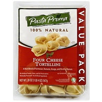 Pasta Prima Tortellini Four Cheese, Value Pack Food Product Image