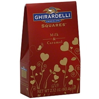 Ghirardelli Chocolate Milk Chocolate Milk & Caramel Food Product Image