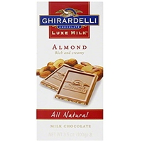 Ghirardelli Chocolate Milk Chocolate Almond Food Product Image