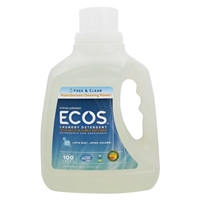 Ecos Laundry Detergent Free & Clear Food Product Image
