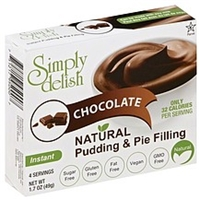 Simply Delish Pudding & Pie Filling Instant, Chocolate Food Product Image