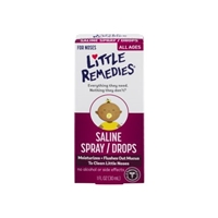 Little Remedies Saline Spray/Drops All Ages Food Product Image