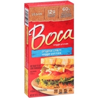 Boca Veggie Protein Patties Original Chik'n - 4 CT Food Product Image