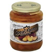 Speas Farm Pie Filling Peach Food Product Image