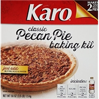 Karo Classic Pecan Pie Baking Kit Food Product Image