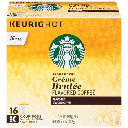 Starbucks Crme Brulee Flavored Ground Coffee - 5.5 oz Food Product Image