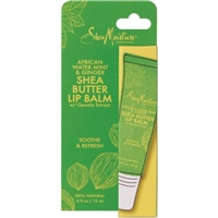 SheaMoisture African Water Mint & Ginger Shea Butter Lip Balm  0.5 oz Food Product Image