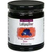 Lollipop Tree Wild Blueberry Jam Food Product Image