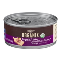 Castor & Pollux Organix Adult Cat Food Turkey, Brown Rice & Chicken Recipe Food Product Image