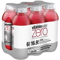 vitaminwater Zero Naturally Sweetened XXX Acai-Blueberry-Pomegranate Nutrient Enhanced Water Beverage - 6 CT Food Product Image
