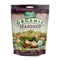 Fresh Gourmet Organic Seasoned Premium Croutons Food Product Image
