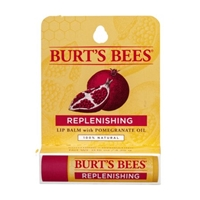 Burt's Bees Replenishing Lip Balm With Pomegranate Oil Food Product Image