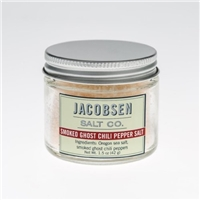 Jacobsen Salt Co. Jacobsen Salt Co., Smoked Ghost Chili Pepper Salt Food Product Image