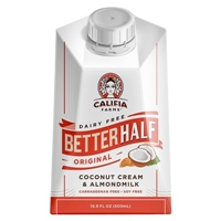Califia Farms Dairy Free Better Half Original Coconut Cream & Almond Milk 16.9 oz Food Product Image