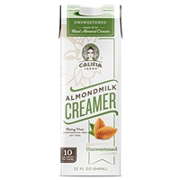 Califia Farms Almond Milk Creamer Food Product Image