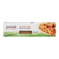 Jovial Gluten Free Brown Rice Pasta Spaghetti Food Product Image