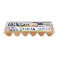 Pete and Gerry's Organic Eggs Large - 12 CT Food Product Image