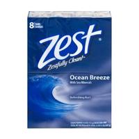 Zest Refreshing Bars Ocean Breeze - 8 CT Food Product Image