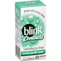 Blink Contacts Lubricating Eye Drops for Soft & RGP Lenses Food Product Image