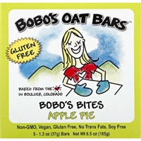 Bobo's Oat Bars Apple Pie Bites Food Product Image