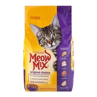 Meow Mix Original Choice Cat Food Food Product Image