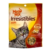 Meow Mix Irresistibles Soft White Meat Chicken Food Product Image