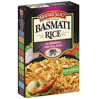 Heritage Select Basmati Rice Jambalaya With Orzo Pasta Food Product Image