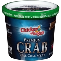Chicken of the Sea Premium Crab Food Product Image